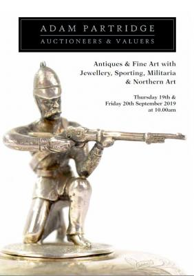 Antiques & Fine Art with Jewellery, Sporting, Militaria & Northern Art 2019-09-19 Image