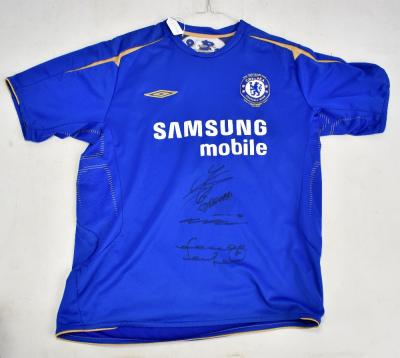 quality design 35de6 553e9 DIDIER DROGBA; a replica signed Chelsea shirt, size large ...